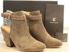 Corso Como Stowe Taupe Bootie Size 8 ~ Split Suede / Brushed Leather NEW !