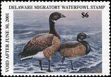 Delaware #21 2000 State Duck American Brandt by Michael Ashmen