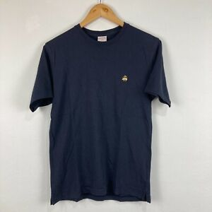 Brooks Brothers Mens T-Shirt Size Small Blue Short Sleeve Round Neck 47.28