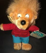 """Vintage Brother Bear The Berenstain Bears 9"""" Retired Plush Doll NWT Applause 80s"""
