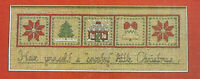 Have A Country Little Christmas Sampler Cross Stitch Pattern Chart from magazine