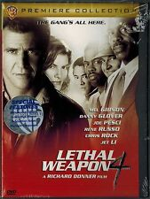 Lethal Weapon 4 (DVD, 2009) Widescreen New Factory Sealed Chris Rock Jet Li