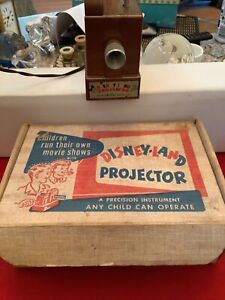1950s Mavco Disneyland Toy Projector In Original Box ** WORKS GREAT**