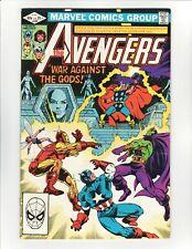 The Avengers #220 June 1982 Marvel Comics War Against the Gods VF+