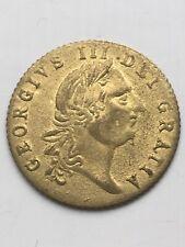 United Kingdom 'George III�� 1788 Spade Half Guinea Brass Gaming Token