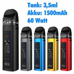 Uwell AIO Aeglos Premium E-Zigarette 1500mAh 60W E-Shisha Pod Gerät 3,5ml
