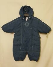 Pippi Blue Baby Boys 0 - 3 months All In One Winter Coat Pram Suit