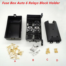 Socket Fuse Box  Holder 6 Relay 5 Road The Nacelle Insurance Car Auto Relays