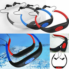 8GB Waterproof Sports MP3 Player FM Radio Headset for Swimming Surfing Diving U