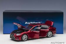 Autoart Lexus LS 500h Morello Red Metallic in 1/18 Scale New Release!