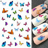 Nail Art Water Decals Transfer JaLDecal - Pretty Multi Coloured Butterflies 🦋S1
