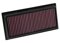 K&N Filters 33-3016 Air Filter Fits 2014-2018 Mirage/Mirage G4 - 1.2 L