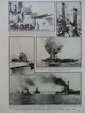 1917 UNITED STATES NAVY DREADNOUGHTS & BATTLE-CRUISERS  WWI WW1