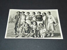 LOS ANGELES 1932 J.O. OLYMPIC GAMES OLYMPIA ATHLETISME FEMMES CANADA TEAM