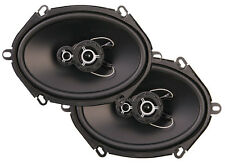 """NEW (2) PPI 5x7 Car Audio Speakers.Pair.3way Sound.5""""x7"""".five by seven inch.4ohm"""