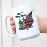 Christmas Coffee Mug Coffee Mug Funny Cup with Handle Happy New Year Coffee Cup