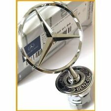 Badge embleme etoile capot Mercedes C E S CLK Genuine Bonnet Badge Original