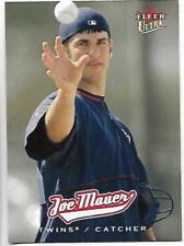 2005 Fleer Ultra #5 Joe Mauer Minnesota Twins