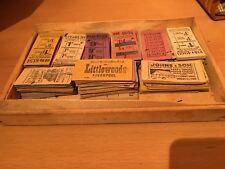 Birmingham & Midland Motor Omnibus - Collection of 1940s, 1950s Bus Tickets 100s