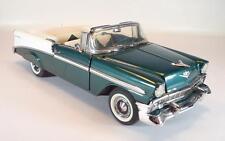 Franklin Mint 1/24 Chevrolet Bel Air Convertible (1956) grünmetallic/weiss #2218