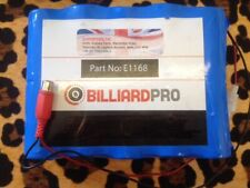 ELECTRONIC POOL TABLE BATTERY PACK From **SUPERPOOL UK**