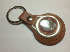 ARIEL  MOTORCYCLES  Leather Key Rings, available in black or tan