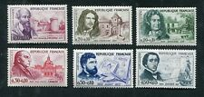 Série FRANCE neufs TB** YT n° 1257 à 1262 - Célébrités - 1960