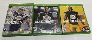 Madden NFL17,18,19 (Microsoft Xbox One) Bundle