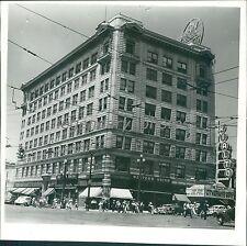 1940 Utah Oil Building Salt Lake City Original News Service Photo