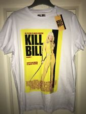 Quentin Tarantino Kill Bill Vol 1 Movie Poster Camiseta-Blanco L Grande BNWT