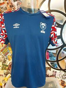 Bristol Bears Rugby Shirt - Umbro Training Jersey - L BNWT