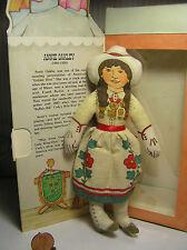 "7"" Hallmark Cloth ""Annie Oakley""  Doll  # DT113-3 1979 Has the Box"