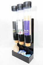 IN-CUP DRINKS WALL HUNG DISPENSER & INGREDIENTS HOLDERS - MINIBUS /COACHES /BUS