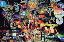 "PINK FLOYD ""COLLAGE OF ALBUM ARTWORK"" POSTER FROM ASIA - Progressive / Art Music"