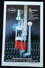 Vintage 1985 LEE Bullet Making/Reloading Dies/Press Products Pamphlet