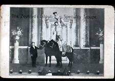 ARTISTES NAINS / ZEYNARD'S CIRCUS sur scéne avec PONEY / CIRQUE de LILLIPUT