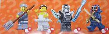 LEGO 71011 personaggi serie 15, Space Mech alieno robot SPADA # 11 NUOVO