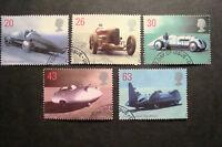 GB 1998 Commemorative Stamps~Land Speed~Fine Used Set~UK Seller