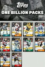 ONE BILLION PACK CELEBRATION COMPLETE SET OF 10 CARDS Topps NHL Skate Digital