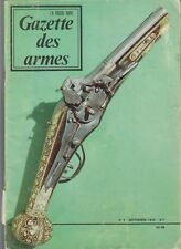 GAZETTE DES ARMES N°8 SPECIAL FUSIL CHASSEPOT
