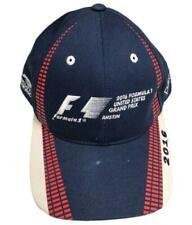 Formula 1 Race Car Hat Cap Austin Texas 2016 Red White & Blue USA