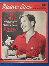 Picture Show Magazine - 7/2/1959 - Pat Boone Cover
