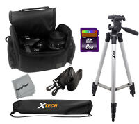 "Pro 50"" Tripod with Deluxe SLR case + 8GB SD Memory Card for Canon 70D and 60D"