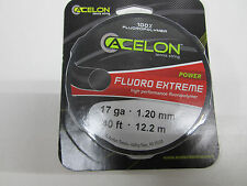 **NEW**  LOT OF 2 SETS ACELON FLUORO EXTREME 17g (1.20) TENNIS STRING
