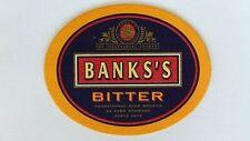 Banks's Bitter Beer Mat Beer Coaster
