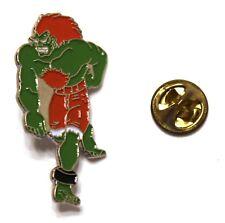 Capcom Street Fighter BLANKA pin VHTF 4 x 2 cm. Oversized