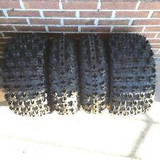 21x7-10 & 20x10-9 NEW ATV TIRE SET All 4 Tires Yamaha Raptor 700R 660R 2001-2016