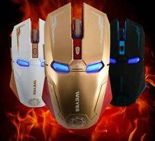 Weyes Iron Man Wireless Silent Click Laser Gaming Mouse (3 Variants)