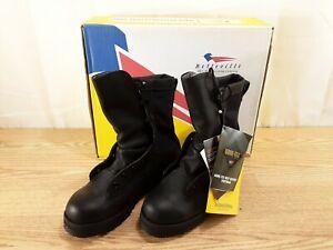 Belleville Combat Infantry Boots Gore-Tex Black Vibram Soles Size 4.5 R NEW