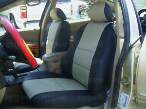 SATURN SC2 1997-2002 LEATHER-LIKE CUSTOM FIT SEAT COVER